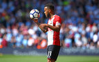 SOUTHAMPTON, ENGLAND - MAY 13: Ryan Bertrand of Southampton FC  during the Premier League match between Southampton and Manchester City at St Mary's Stadium on May 13, 2018 in Southampton, England. (Photo by James Bridle - Southampton FC/Southampton FC via Getty Images)