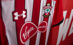 The Southampton FC home kit as part of the 2018/19 SFC kit launch, Romsey Town FC, Romsey, nr Southampton, 13th June 2018
