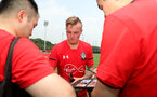 Jordy Clasie meets fans during day 3 of Southampton FC's pre-season tour of China, at the Kunshan training facility, Kunshan, Shanghai, China, 3rd July 2018