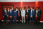 Fifteen youngsters sign scholarships with Saints