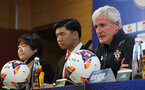 Mark Hughes during a Southampton FC press conference ahead of their game against FC Shalke, at the Kunshan Sports Stadium, China, Kunshan, Shanghai, China, 4th July 2018