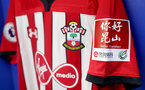 KUNSHAN, CHINA - JULY 05: Inside the Southampton FC dressing room ahead of the pre season 2018 Clubs Super Cup match between Southampton FC and FC Schalke, at Kunshan Sports Center on July 5, 2018 in Kunshan, China. (Photo by Matt Watson/Southampton FC via Getty Images)