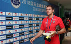 KUNSHAN, CHINA - JULY 05: Alex McCarthy of Southampton ahead of the pre season 2018 Clubs Super Cup match between Southampton FC and FC Schalke, at Kunshan Sports Center on July 5, 2018 in Kunshan, China. (Photo by Matt Watson/Southampton FC via Getty Images)