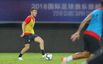 SHANGHAI, CHINA - JULY 09: Jake Vokins during a Southampton FC training session, while on their pre season tour of China, on July 6, 2018 in Xuzhou, China. (Photo by Matt Watson/Southampton FC via Getty Images)