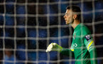 MANCHESTER, ENGLAND - MAY 8: Angus Gunn of Manchester City watches on during the Premier League International Cup Final match between Manchester City and FC Porto at the Manchester City Academy Stadium on May 8, 2015 in Manchester, England. (Photo by Paul Thomas/Getty Images)