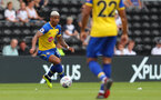 DERBY, ENGLAND - JULY 21: Mario Lemina of Southampton during the pre-season friendly match between Derby County and Southampton at Pride Park on July 21, 2018 in Derby, England. (Photo by Matt Watson/Southampton FC via Getty Images)