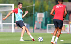 EVIAN-LES-BAINS, FRANCE - JULY 23: Wesley Hoedt as Southampton FC take part in their first day of their pre-season training camp, on July 23, 2018 in Evian-les-Bains, France. (Photo by Matt Watson/Southampton FC via Getty Images)