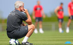 EVIAN-LES-BAINS, FRANCE - JULY 24: Mark Hughes watches on during day 2 of Southampton FC's pre-season training camp on July 24, 2018 in Evian-les-Bains, France. (Photo by Matt Watson/Southampton FC via Getty Images)