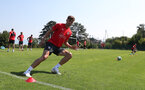 EVIAN-LES-BAINS, FRANCE - JULY 24: Sam Gallagher during day 2 of Southampton FC's pre-season training camp on July 24, 2018 in Evian-les-Bains, France. (Photo by Matt Watson/Southampton FC via Getty Images)
