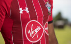 EVIAN-LES-BAINS, FRANCE - JULY 24: Southampton FC's third kit, at the Hotel Royal during day 2 of Southampton FC's pre-season training camp on July 24, 2018 in Evian-les-Bains, France. (Photo by Matt Watson/Southampton FC via Getty Images)