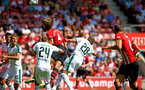 SOUTHAMPTON, ENGLAND - AUGUST 04: during the Pre-Season friendly match between Southampton FC and Borussia Mšnchengladbach pictured at St Mary's Stadium on August 4, 2018 in Southampton, England. (Photo by James Bridle - Southampton FC/Southampton FC via Getty Images) SOUTHAMPTON, ENGLAND - AUGUST 04: during the Pre-Season friendly match between Southampton FC and Borussia Mönchengladbach pictured at St Mary's Stadium on August 4, 2018 in Southampton, England. (Photo by James Bridle - Southampton FC/Southampton FC via Getty Images)