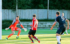 SOUTHAMPTON, ENGLAND - AUGUST 10: Jake Vokins (middle) during the PL2 match between Southampton FC vs Middlesbrough FC pictured at Staplewood Complex on August 10, 2018 in Southampton, England. (Photo by James Bridle - Southampton FC/Southampton FC via Getty Images)