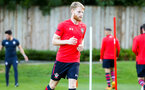 SOUTHAMPTON, ENGLAND - AUGUST 10: Josh Sims ahead of the PL2 match between Southampton FC vs Middlesbrough FC pictured at Staplewood Complex on August 10, 2018 in Southampton, England. (Photo by James Bridle - Southampton FC/Southampton FC via Getty Images)