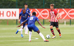 Dan Bartlett during an U18 match between Southampton FC and Chelsea, at the Staplewood Campus, Southampton, 11th August 2018