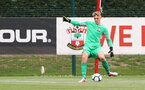 Jack Bycroft during an U18 match between Southampton FC and Chelsea, at the Staplewood Campus, Southampton, 11th August 2018