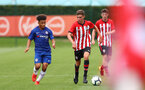 James Morris during an U18 match between Southampton FC and Chelsea, at the Staplewood Campus, Southampton, 11th August 2018