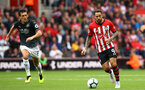 SOUTHAMPTON, ENGLAND - AUGUST 12: Danny Ings (right) of Southampton FC during the Premier League match between Southampton FC and Burnley FC at St Mary's Stadium on August 12, 2018 in Southampton, United Kingdom. (Photo by James Bridle - Southampton FC/Southampton FC via Getty Images)