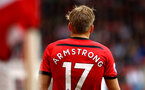 SOUTHAMPTON, ENGLAND - AUGUST 12: Stuart Armstrong of Southampton FC during the Premier League match between Southampton FC and Burnley FC at St Mary's Stadium on August 12, 2018 in Southampton, United Kingdom. (Photo by James Bridle - Southampton FC/Southampton FC via Getty Images)