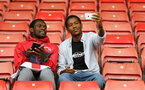 SOUTHAMPTON, ENGLAND - AUGUST 12: Southampton FC  fans ahead of the Premier League match between Southampton FC and Burnley FC at St Mary's Stadium on August 12, 2018 in Southampton, United Kingdom. (Photo by James Bridle - Southampton FC/Southampton FC via Getty Images)