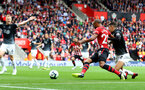 SOUTHAMPTON, ENGLAND - AUGUST 12: Nathan Redmond of Southampton during the Premier League match between Southampton FC and Burnley FC at St Mary's Stadium on August 12, 2018 in Southampton, United Kingdom. (Photo by Matt Watson/Southampton FC via Getty Images)
