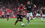 SOUTHAMPTON, ENGLAND - AUGUST 12: Nathan Redmond of Southampton during the Premier League match between Southampton FC and Burnley FC at St Mary's Stadium on August 12, 2018 in Southampton, United Kingdom. (Photo by Chris Moorhouse/Southampton FC via Getty Images)