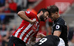 SOUTHAMPTON, ENGLAND - AUGUST 12: Charlie Austin of Southampton during the Premier League match between Southampton FC and Burnley FC at St Mary's Stadium on August 12, 2018 in Southampton, United Kingdom. (Photo by Chris Moorhouse/Southampton FC via Getty Images)