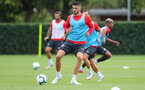 SOUTHAMPTON, ENGLAND - AUGUST 14: Wesley Hoedt during a Southampton FC training session at the Staplewood Campus on August 14, 2018 in Southampton, England. (Photo by Matt Watson/Southampton FC via Getty Images)