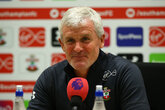 Press Conference (Part One): Hughes on Leicester