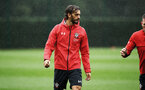 SOUTHAMPTON, ENGLAND - AUGUST 16: Manolo Gabbiadini during a Southampton FC training session at Staplewood Complex on August 16, 2018 in Southampton, England. (Photo by James Bridle - Southampton FC/Southampton FC via Getty Images)