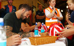 Danny Ings during a Southampton FC signing session at St Marys Stadium, Southampton, 20th August 2018