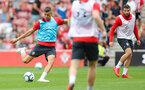 Jan Bednarek during a Southampton FC training session at St Marys Stadium, Southampton, 20th August 2018