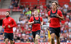 Jannik Vestergaard. Southampton FC team photo and open training session at St Mary's Stadium, Southampton                                Picture: Chris Moorhouse               Monday 20th August 2018             FOR EDITORIAL USE ONLY