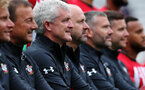 Saints manager Mark Hughes. Southampton FC team photo and open training session at St Mary's Stadium, Southampton                                Picture: Chris Moorhouse               Monday 20th August 2018             FOR EDITORIAL USE ONLY