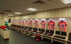 SOUTHAMPTON, ENGLAND - AUGUST 25: inside the dressing room of Southampton during the Premier League match between Southampton FC and Leicester City at St Mary's Stadium on August 25, 2018 in Southampton, United Kingdom. (Photo by Matt Watson/Southampton FC via Getty Images)