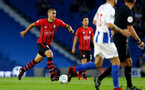 BRIGHTON, ENGLAND - AUGUST 28: Oriol Romeu of Southampton during the Carabao Cup Second Round match between Brighton & Hove Albion and Southampton at American Express Community Stadium on August 28, 2018 in Brighton, England. (Photo by Matt Watson/Southampton FC via Getty Images)