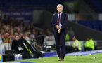 BRIGHTON, ENGLAND - AUGUST 28: Mark Hughes of Southampton during the Carabao Cup Second Round match between Brighton & Hove Albion and Southampton at American Express Community Stadium on August 28, 2018 in Brighton, England. (Photo by Matt Watson/Southampton FC via Getty Images)