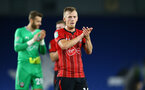 BRIGHTON, ENGLAND - AUGUST 28: James Ward-Prowse of Southampton FC after the final whistle is blown during the Carabao Cup Second Round match between Brighton & Hove Albion and Southampton at American Express Community Stadium on August 28, 2018 in Brighton, England. (Photo by James Bridle - Southampton FC/Southampton FC via Getty Images)
