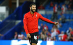 BRIGHTON, ENGLAND - AUGUST 28: Charlie Austin ahead of the Carabao Cup Second Round match between Brighton & Hove Albion and Southampton at American Express Community Stadium on August 28, 2018 in Brighton, England. (Photo by James Bridle - Southampton FC/Southampton FC via Getty Images)