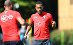 SOUTHAMPTON, ENGLAND - AUGUST 30: Ryan Bertrand during a Southampton FC training session at Staplewood the Campus on August 30, 2018 in Southampton, England. (Photo by Matt Watson/Southampton FC via Getty Images)