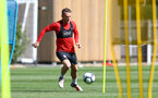 SOUTHAMPTON, ENGLAND - AUGUST 30: Steven Davis during a Southampton FC training session at Staplewood the Campus on August 30, 2018 in Southampton, England. (Photo by Matt Watson/Southampton FC via Getty Images)