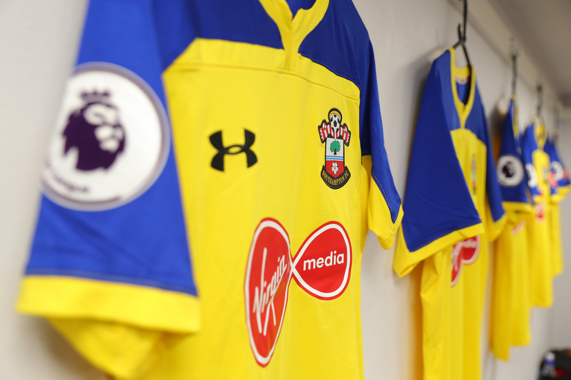 LONDON, ENGLAND - SEPTEMBER 01: inside the dressing room of Southampton ahead of the Premier League match between Crystal Palace and Southampton FC at Selhurst Park on September 1, 2018 in London, United Kingdom. (Photo by Matt Watson/Southampton FC via Getty Images)