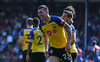 LONDON, ENGLAND - SEPTEMBER 01: Pierre-Emile Hojbjerg of Southampton during the Premier League match between Crystal Palace and Southampton FC at Selhurst Park on September 1, 2018 in London, United Kingdom. (Photo by Matt Watson/Southampton FC via Getty Images)