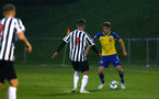 NEWCASTLE, ENGLAND - SEPTEMBER 14: Jake Vokins (right) during the U23's PL2 match between Newcastle United and Southampton FC pictured at Northumberland County FA ground on September 14, 2018 in Southampton, England. (Photo by James Bridle - Southampton FC/Southampton FC via Getty Images)