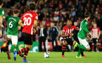 SOUTHAMPTON, ENGLAND - SEPTEMBER 17TH: Mario Lemina of Southampton during the Premier League match between Southampton FC and Brighton & Hove Albion at St Mary's Stadium on September 17, 2018 in Southampton, United Kingdom. (Photo by Chris Moorhouse/Southampton FC via Getty Images)