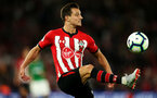 SOUTHAMPTON, ENGLAND - SEPTEMBER 17TH: Cedric Soares of Southampton during the Premier League match between Southampton FC and Brighton & Hove Albion at St Mary's Stadium on September 17, 2018 in Southampton, United Kingdom. (Photo by Chris Moorhouse/Southampton FC via Getty Images)