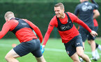 SOUTHAMPTON, ENGLAND - SEPTEMBER 20: Steven Davis during a Southampton FC training session at Staplewood Complex on September 20, 2018 in Southampton, England. (Photo by Matt Watson/Southampton FC via Getty Images)