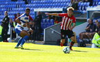 SOUTHAMPTON, ENGLAND - SEPTEMBER 29: Jake Vokins (right) during a PL2 U23s match where Reading FC play Southampton FC at Madjeski Stadium on September 29, 2018 in Reading, England. (Photo by James Bridle - Southampton FC/Southampton FC via Getty Images)