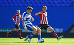 SOUTHAMPTON, ENGLAND - SEPTEMBER 29: Will Smallbone (right) during a PL2 U23s match where Reading FC play Southampton FC at Madjeski Stadium on September 29, 2018 in Reading, England. (Photo by James Bridle - Southampton FC/Southampton FC via Getty Images)