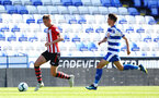SOUTHAMPTON, ENGLAND - SEPTEMBER 29: Will Smallbone (left) during a PL2 U23s match where Reading FC play Southampton FC at Madjeski Stadium on September 29, 2018 in Reading, England. (Photo by James Bridle - Southampton FC/Southampton FC via Getty Images)