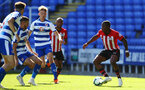 SOUTHAMPTON, ENGLAND - SEPTEMBER 29: Michael Obafemi (right) during a PL2 U23s match where Reading FC play Southampton FC at Madjeski Stadium on September 29, 2018 in Reading, England. (Photo by James Bridle - Southampton FC/Southampton FC via Getty Images)